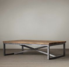 Furniture American country to do the old wrought iron coffee table LOFT style rectangular coffee table wood coffee table Loft Furniture, Iron Furniture, Steel Furniture, Industrial Furniture, Rustic Furniture, Table Furniture, Vintage Furniture, Furniture Design, Cheap Furniture