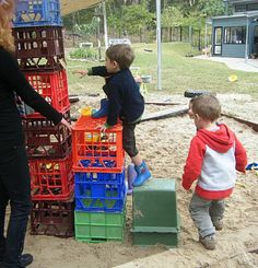 let the children play: outdoor play: when benefits outweigh the risks Physical Play, Physical Activities, Preschool Activities, Outdoor Activities, Early Learning, Kids Learning, Outdoor Learning Spaces, Outdoor Spaces, Classroom Training