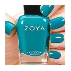 Vegan nail polish from Zoya. We love this vivid Talia colour... #veganshoes #ethicalfashion #ethicalbeauty www.beyondskin.co.uk