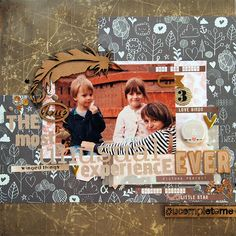layout by Tusia Lech for Berry71Bleu DT with UmWowStudio products