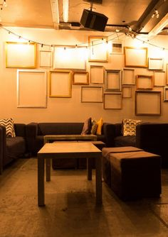 Check out this cosy 30th birthday party space at Project B, London