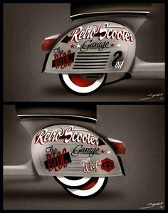DO YOU LIKE VINTAGE? Vespa Piaggio, Lambretta Scooter, Scooter Motorcycle, Vespa Scooters, Vespa Gt, Scooter Custom, Custom Bikes, Audi Tt, Vespa Images