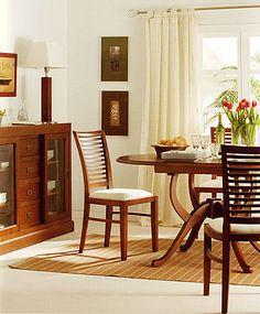 Commodity juego de comedor tmhc226 112t madera juego de comedor 6 personas hecho de - Samarkanda muebles ...