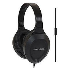 Koss Stereo Headphones w/ Microphone  Black UR22i