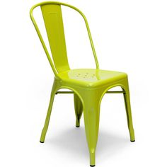 """Aeon Garvin-1 Side Chair Green - Our Garvin-1 galvanized steel chair's classic industrial look is perfect in a variety of settings. Whether it's in your urban apartment or your rustic country home, the Garvin-1 is both stylish and functional. Chairs are suitable for indoor or outdoor use and come with non-marking feet to protect your floors. Dimensions: 17.5""""w x 18""""d x 33""""h."""