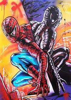 Spider-Man 12X16 inches 5D Diamond Painting kit Complete Diamond Embroidery Painting DIY Embroidery Cross-Stitch for Home Wall Decoration