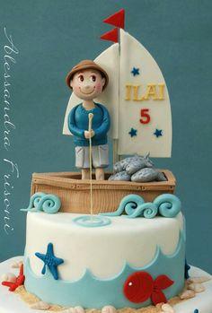 personaggio topper cake