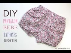 DIY Como hacer pantalon para bebe (patrones gratis), My Crafts and DIY Projects