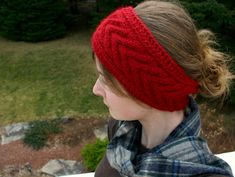 Horseshoe Cable Headband Pattern