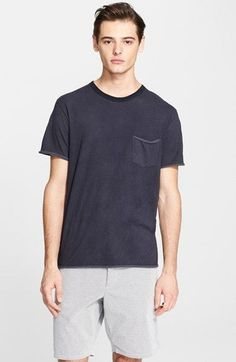 Free shipping and returns on rag   bone Raw Edge Pocket T-Shirt at Nordstrom 5a9909ea3ff