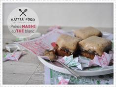 Battle Food #6 - Poire Nashi pochées au thé blanc