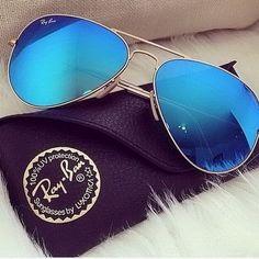 #Rayban #Sunglasses Ray Ban Aviator RB3025 Sunglasses Gold Frame Crystal Yellow Polarized Lens