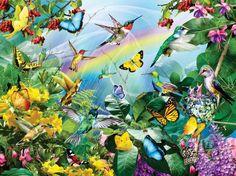 HummingBird Sanctuary (300 pieces)