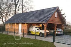 Timber Garage, Carport Garage, Detached Garage, Room Above Garage, Carports, Garage Design, Garage Workshop, Home And Garden, Outdoor Structures