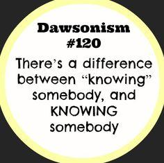 Dawsonism #120
