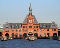 Historic Central Railroad of NJ Train Terminal, Liberty State Park, New Jersey