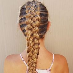 hermosa-trenza-para-pelo.jpg (560×559)