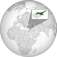 Norhern Cyprus (orthographic projection) ◆Northern Cyprus - Wikipedia http://en.wikipedia.org/wiki/Northern_Cyprus #Northern_Cyprus