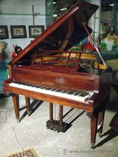 PIANO DE COLA BLUTHNER / Instrumentos musicales en todocoleccion