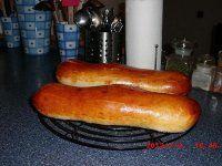 Domácí veka Hot Dog Buns, Hot Dogs, Sausage, Bread, Food, Sausages, Brot, Essen, Baking