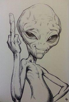 Weird Drawings, Alien Drawings, Trippy Drawings, Space Drawings, Dark Art Drawings, Pencil Art Drawings, Art Drawings Sketches, Sketch Art, Animal Drawings