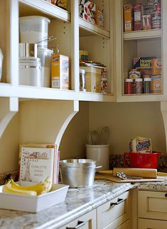 "How I picture the ""cabinet"" part of  Winnie's kitchen."
