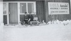 Golå handel, Gudbrandsdalen. Vintage Postcards, Family History, Outdoor, Nature, Vintage Travel Postcards, Outdoors, Outdoor Games, The Great Outdoors, Genealogy