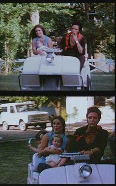 Go cart ride at Graceland - Elvis, Priscilla & Lisa Marie