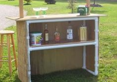 Portable Tiki Bar - Tiki To Go - Commercial Tiki Bar - Trade Show Tiki Bar - Tiki Hut