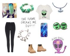 """""""-Alien-"""" by bethie3313 ❤ liked on Polyvore featuring Serafini and Topshop"""