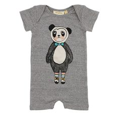 Soft Gallery Owen Body Grey Melange Pandaboy  | www.littlesahou.com