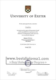 The open university degree certificate onlinebuy university university of exeter diploma make a exeter certificate uk http yadclub Image collections