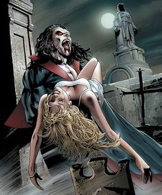 Morbius by Greg Land. One of my favorite pieces of art that Land has done.