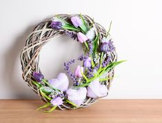 Color is crucial when picking a decorative wreath for your next occasion. Learn what other steps you need to go through to find the best wreath for you! Thanksgiving Wreaths, Easter Wreaths, Holiday Wreaths, Easter Nail Designs, Summer Wreath, Spring Wreaths, Spring Crafts, Easter Crafts, Honeysuckle Cottage