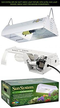 Sun System HPS 150 watt Grow Light Fixture with Ultra Sun Lamp - 900490, Grow Light for Indoor Hydroponics Gardening Plants Veg and Flower #drone #shopping #lights #plans #technology #racing #parts #camera #products #gardening #kit #fpv #tech #gadgets
