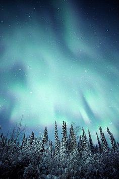 Yukon, Canada Aurora.