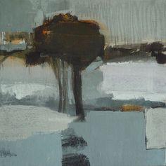 paysage avec arbre by Olivier Rouault