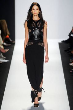 Leather Harnesses Spring 2013 Runways - Leather Harnesses at Fashion Week - ELLE