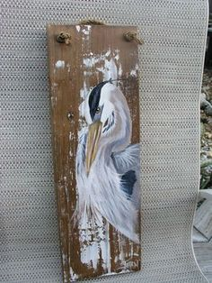 Great+Blue+Heron+Portrait+by+JeanosArt+on+Etsy