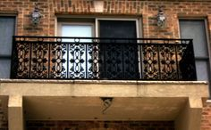 custom wrought iron hand railings, MA, RI, ornamental exterior ironwork, custom iron balconies, outdoor rails