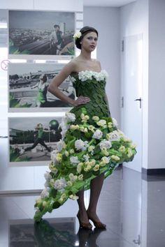 ❧✿ Les fleurs dans la mode ❧✿ TRIDVORNOVA