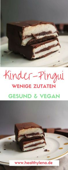 Vegane Kinder-Pingui – hier erwartet dich eine gesündere und rein pflanzliche Version der bekannten Süßigkeit. Nachdem ich mir also zuerst vegane Oreos vorgenommen habe, ist es nun Zeit für vegane Kin