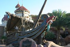 The Voyage of the Little Mermaid ~ The New Fantasyland Magic Kingdom