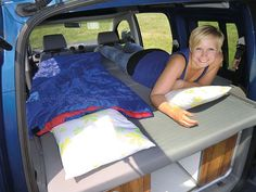 Minicamper Reimo - Schlafplatz im Citroën Berlingo