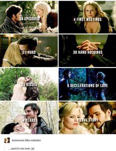 Idc how accurate it is, Captain Swan is love Captain Swan, Captain Hook Ouat, Once Upon A Time Funny, Once Up A Time, Bellarke, Malec, Delena, Movies Showing, Movies And Tv Shows