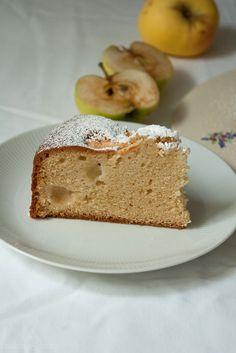 Apfel-Weintrauben-Schlupfkuchen {Apple Grape Pound Cake}