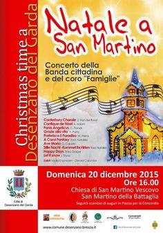 Il Natale a San Martino della Battaglia di Desenzano del Garda vi aspetta domenica 20 dicembre 2015 @gardaconcierge