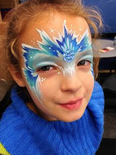 Chicago face painter - Frozen Face Painting