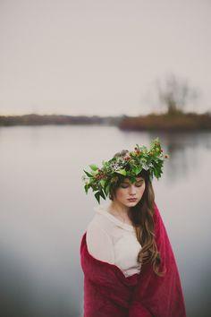 Stunning Christmas wedding inspiration shoot by Paula O'Hara
