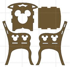 DXF Plans Downloads - Furniture